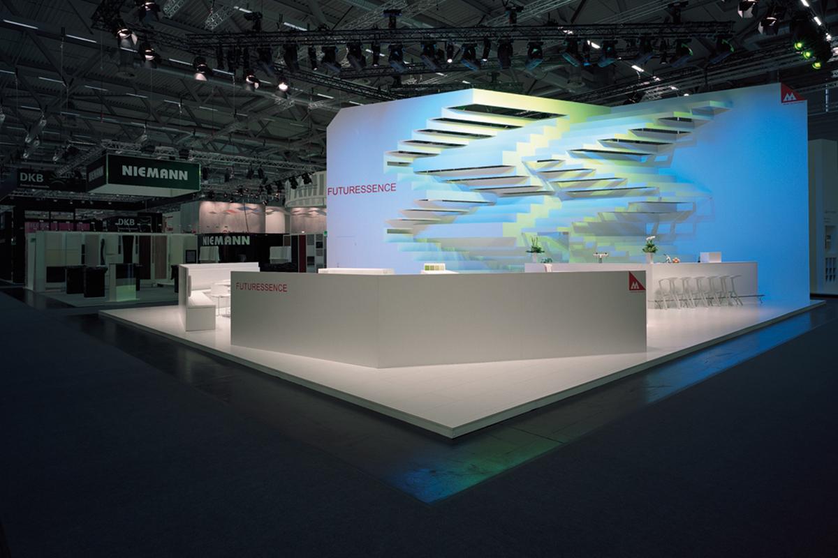 Exhibition Stand Lighting Plus : Munksjö u exhibition stand kubix