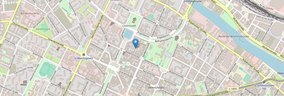 Show location on openstreetmap.org